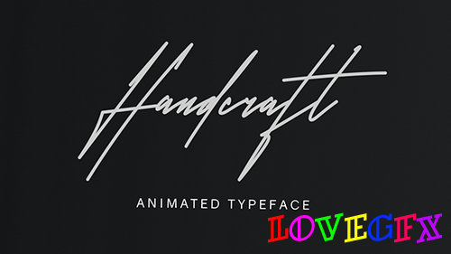 Handcraft Animated Handwriting 21344118 - Project for After Effects (Videohive)