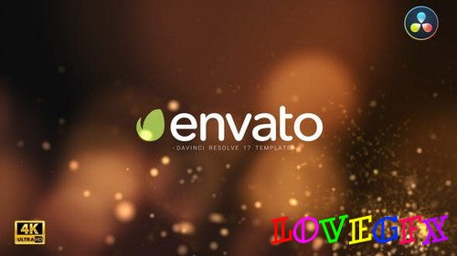 Particle Burst Logo Reveal 29699987 - DaVinci Resolve Project(Videohive)